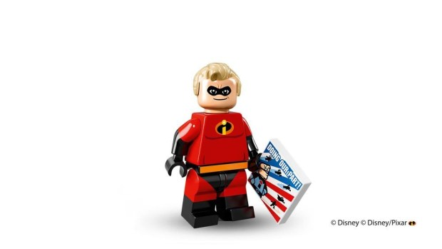 Incredibles - Mr. Incredible Lego Minifigure