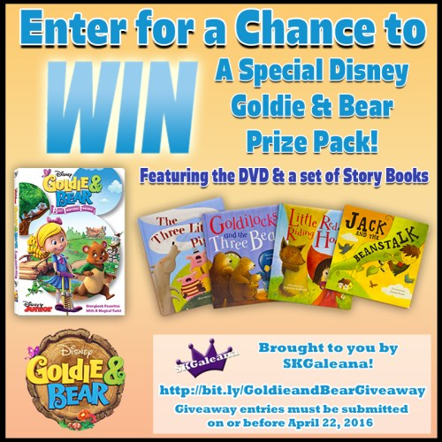 Goldie & Bear Prize Pack Giveaway image1