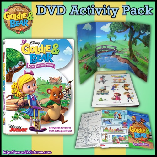 Goldie and Bear DVD and activity pack