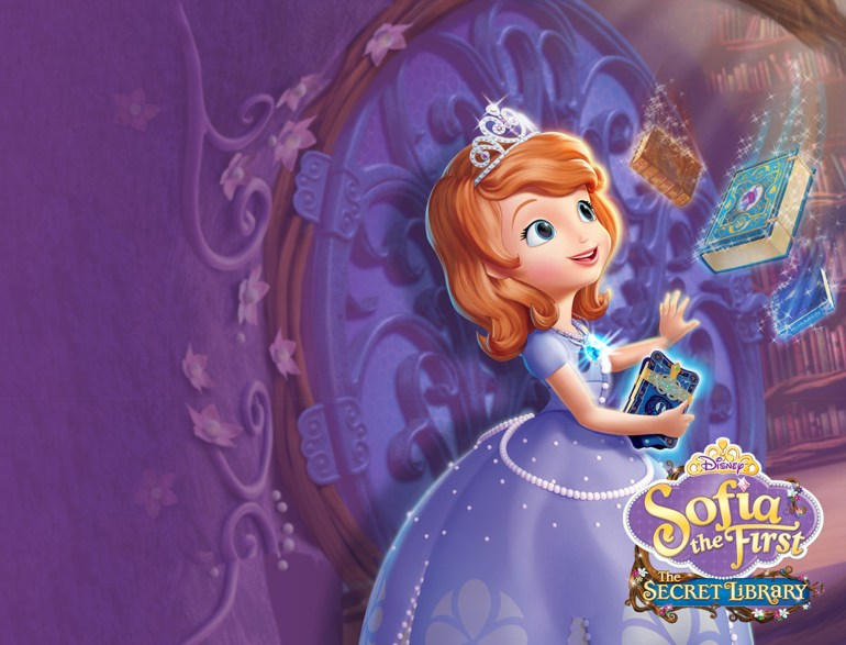 Sofia The First The Secret Library Wallpaper