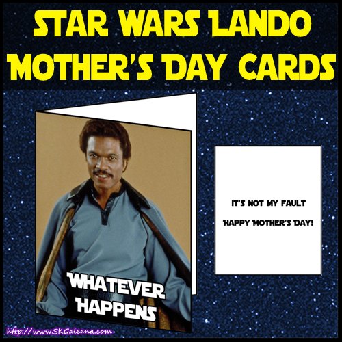 Lando Mothers day card by SKGaleana image