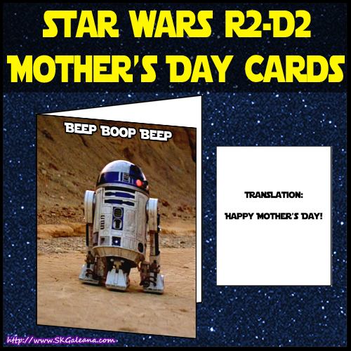 R2-D2 Mothers day card by SKGaleana iamge