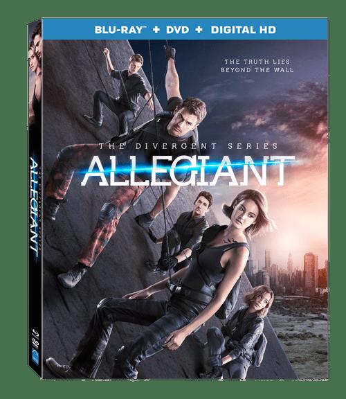The divergent series allegiant bluray