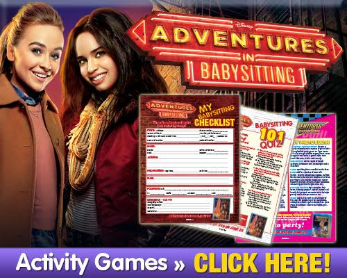 Adventures In Babysitting Free Activity Pack Skgaleana