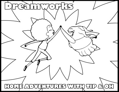 Tip & Oh Coloring Page