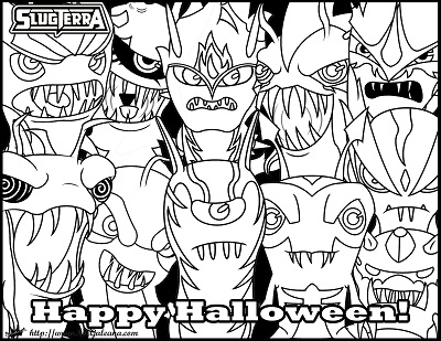Happy Halloween From The Ghouls From Slugterra Skgaleana