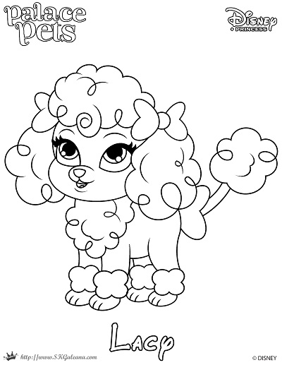 Free Coloring Page featuring Lacy