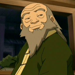 Uncle Iroh Cubeecraft From Avatar The Last Airbender Atla Skgaleana
