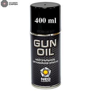 GUN OIL нейтральное оружейое масло 400 мл.