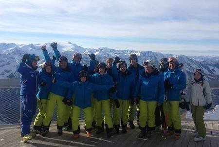 Skilehrer im Skiclub Altomünster