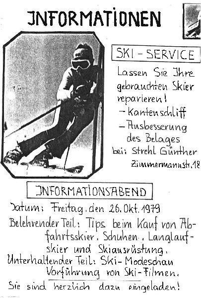 Skiclub Pfreimd : Informationsabend