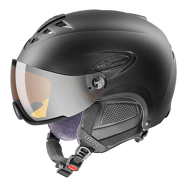 kask narciarski uvex hlmt 300 visor 2019 black