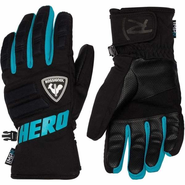 rękawice narciarskie rossignol jr Race 2020 blue
