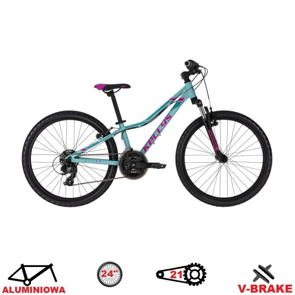 rower kellys kiter 50 turquoise 2020 koła 24