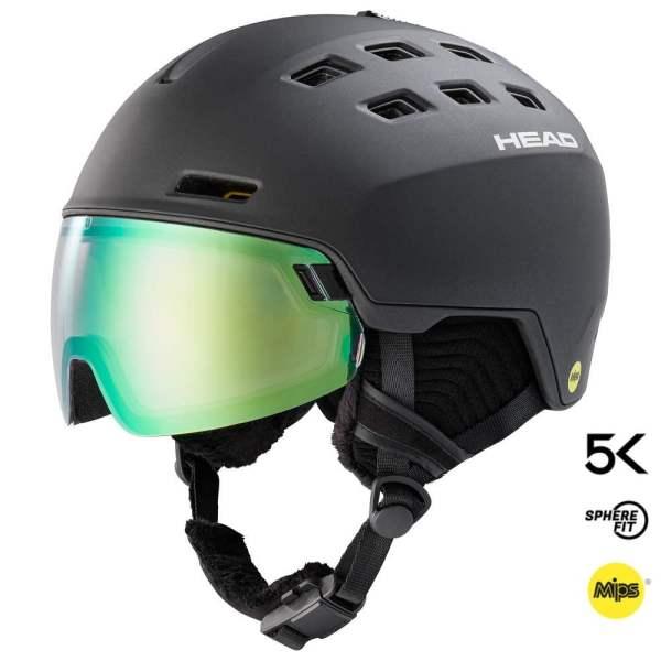 kask narciarski head radar 5k photo mips