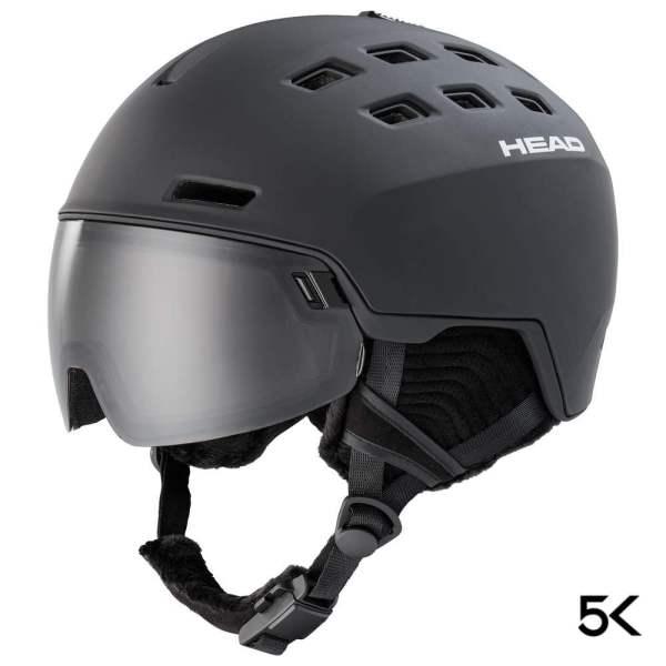 kask narciarski head radar 5k sl black