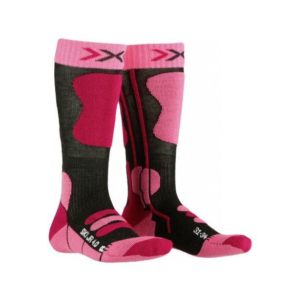 skarpety narciarskie x-socks ski jr 40 pink