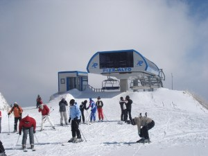 The top of the Pizzalto lift