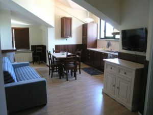 Apartments I Narcisi kitchen
