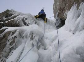Scottish ice climbing