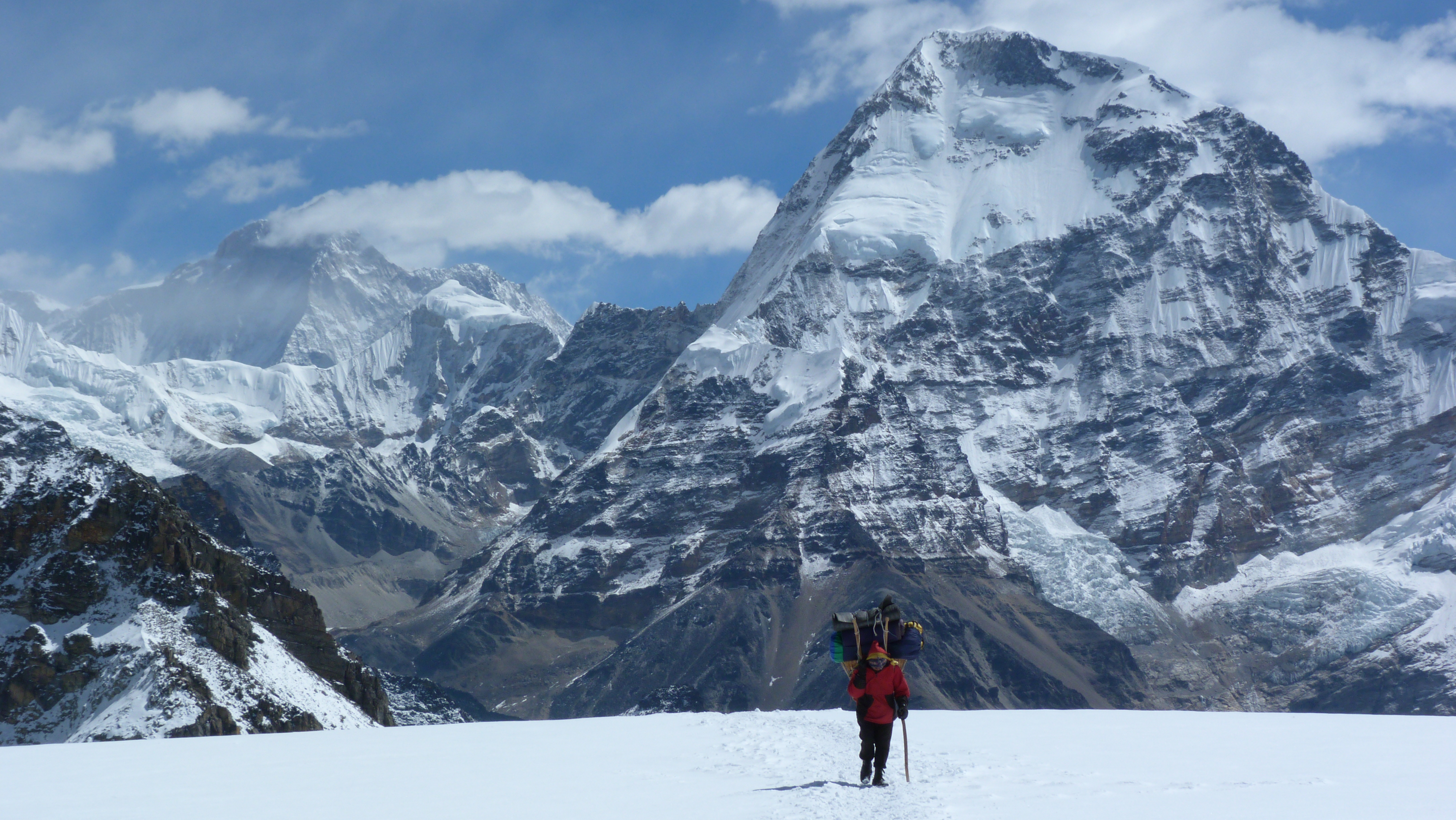 Local team member, Mera Peak Expedition, Nepal