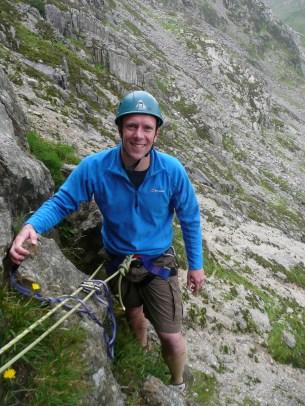 Graham enjoying some Walsh Classic Climbs