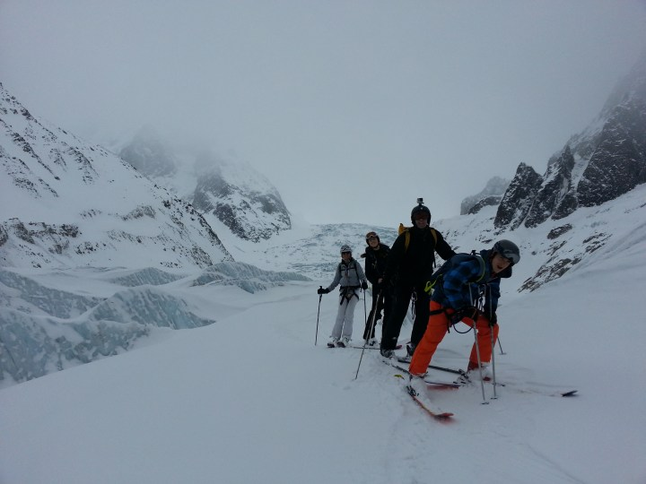 Easter Monday Vallee Blanche descent