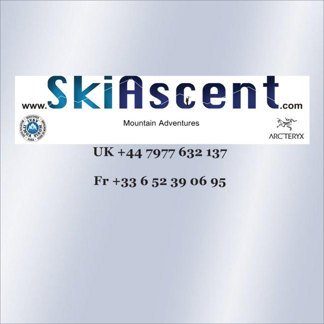 @SkiAscent at work on the Arcteryx Alpine Academy
