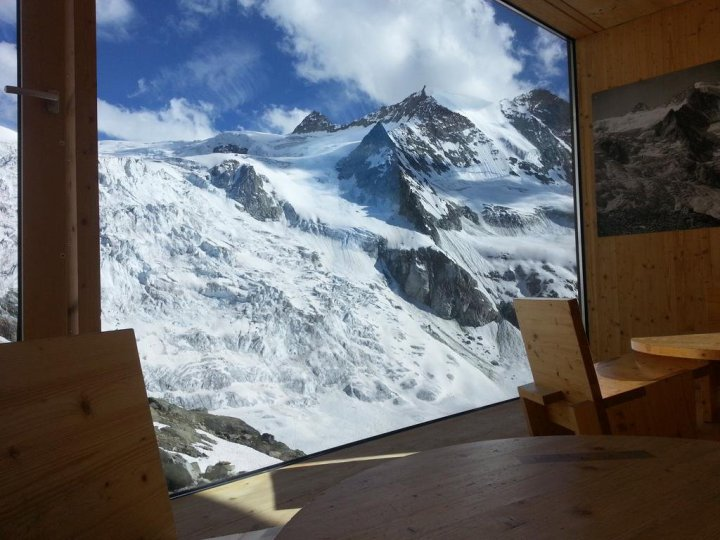 What a view! #Moiry hut