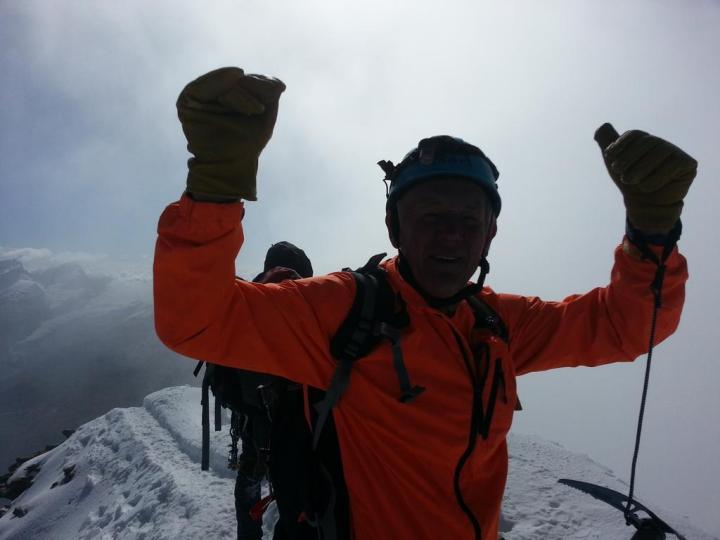 #Matterhorn success for Dafydd today. Well done!