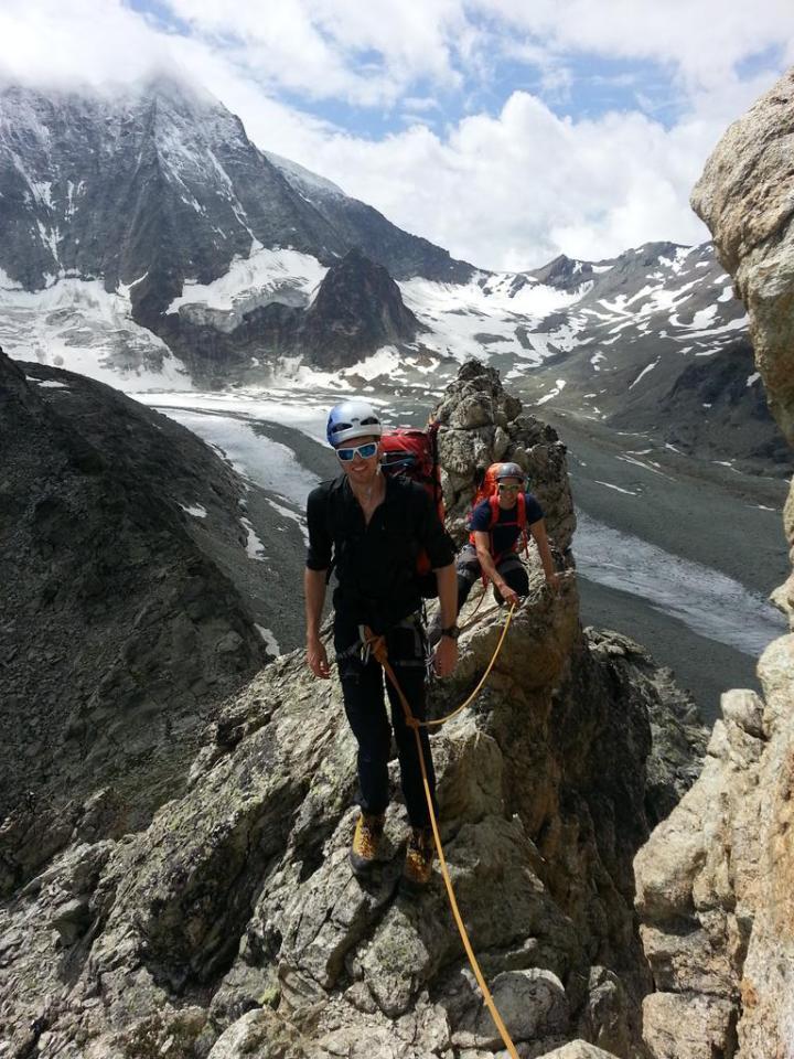 Dix hut, Mont Blanc de Cheilon