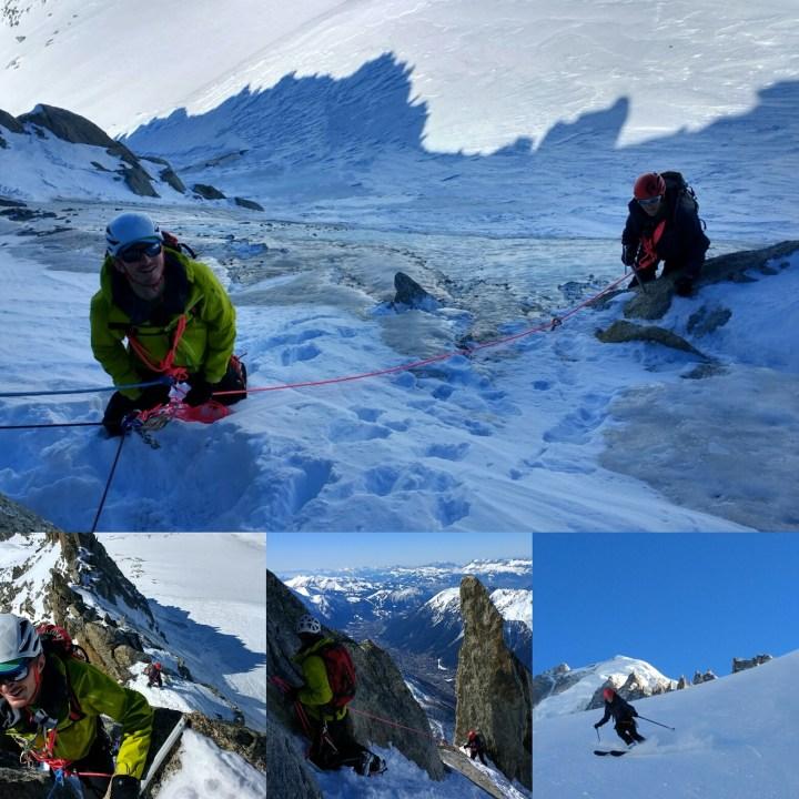 #skimountaineering skills day