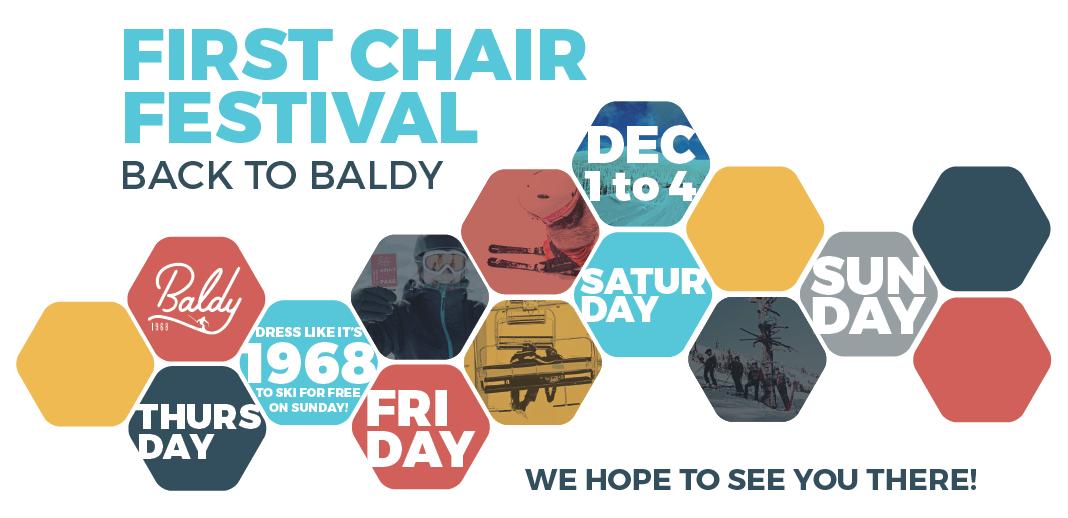 first chair ski festival event