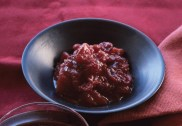 Cranberry Pear and Ginger Chutney