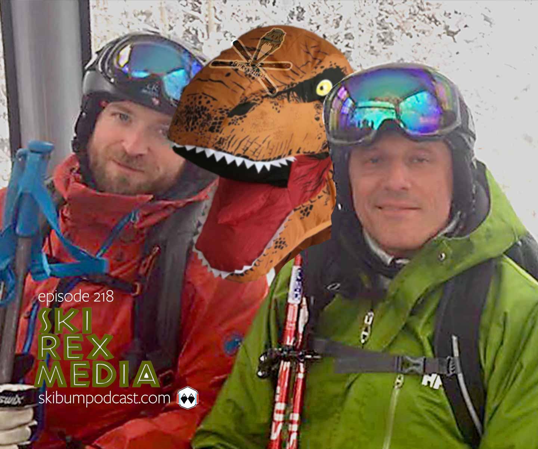 podcast 218 - ski rex media