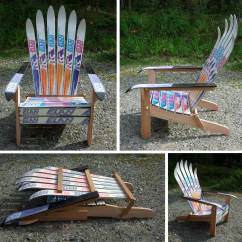 Adirondack Chair Plan Cheap Covers For Weddings To Buy Wooden How Make Chairs From Skis Pdf Plans