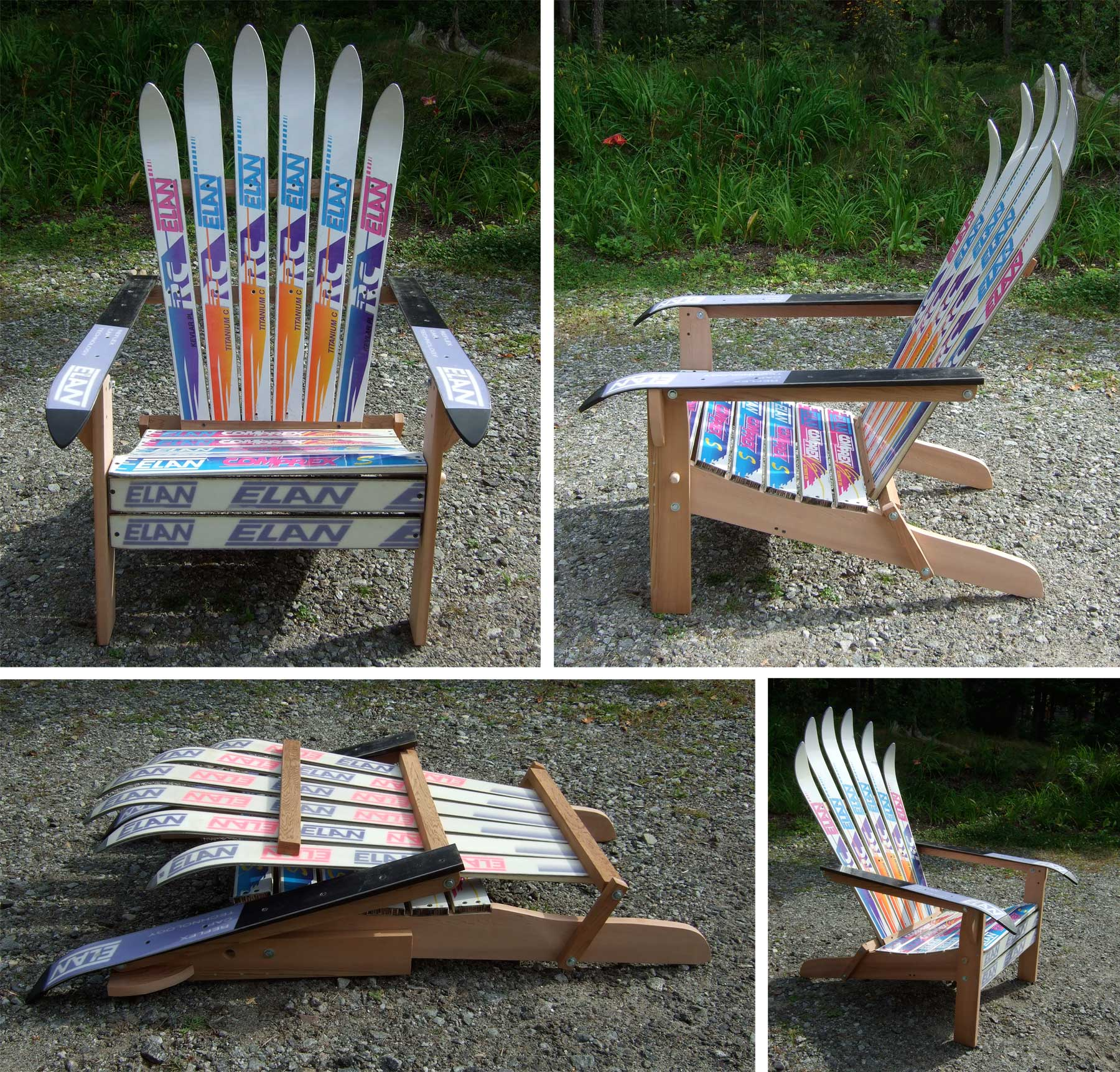 plans adirondack chairs free sex chair for sale wooden how to make from skis pdf