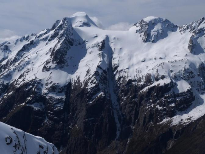 A great oblique photo of Mount Somnus and the Somnus Couloir (grabbed from ClimbNZ.org.nz)