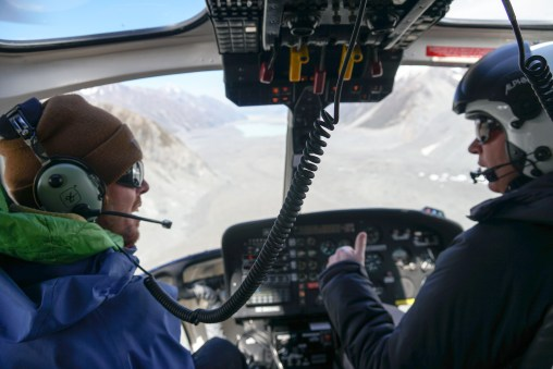 Michael and the Heli Pilot