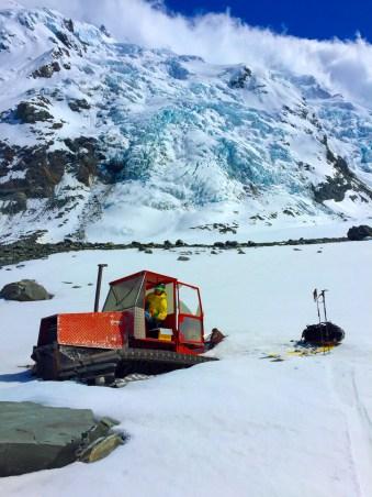 Tasman Glacier Tractor