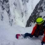 Hiedayama Couloir (Cortina Landslide)