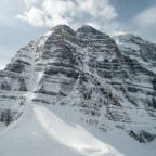 Mount Temple's Aemmer Couloir