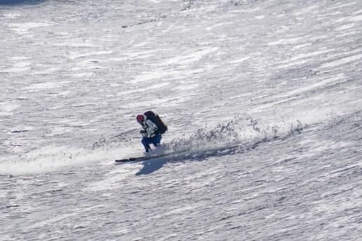 Hans skiing Hoophorn