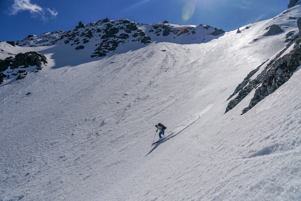 Hans skiing Hoophorn 2
