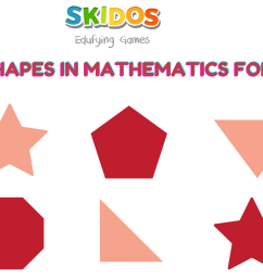 Geometric shapes for Kids with Definition [ 780 x 2050 Pixel ]