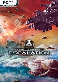 Ashes Of The Singularity : ashes, singularity, Ashes, Singularity, Escalation, V3.0-CODEX, Skidrow, Reloaded, Games