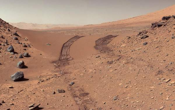mars rover curiosity image