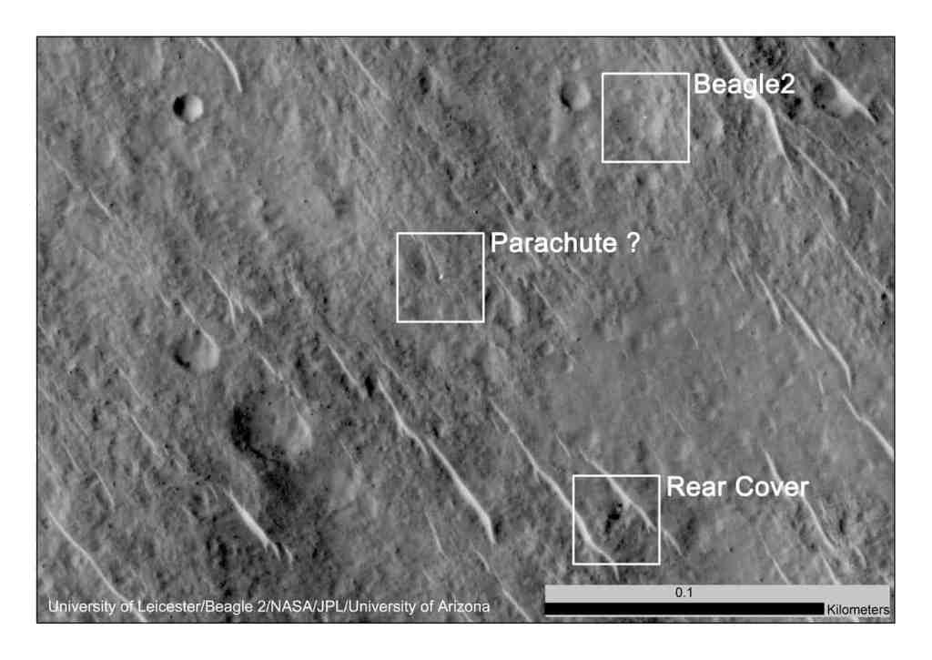 beagle 2 mars rover