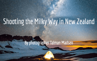 New Zealand Milky Way photography