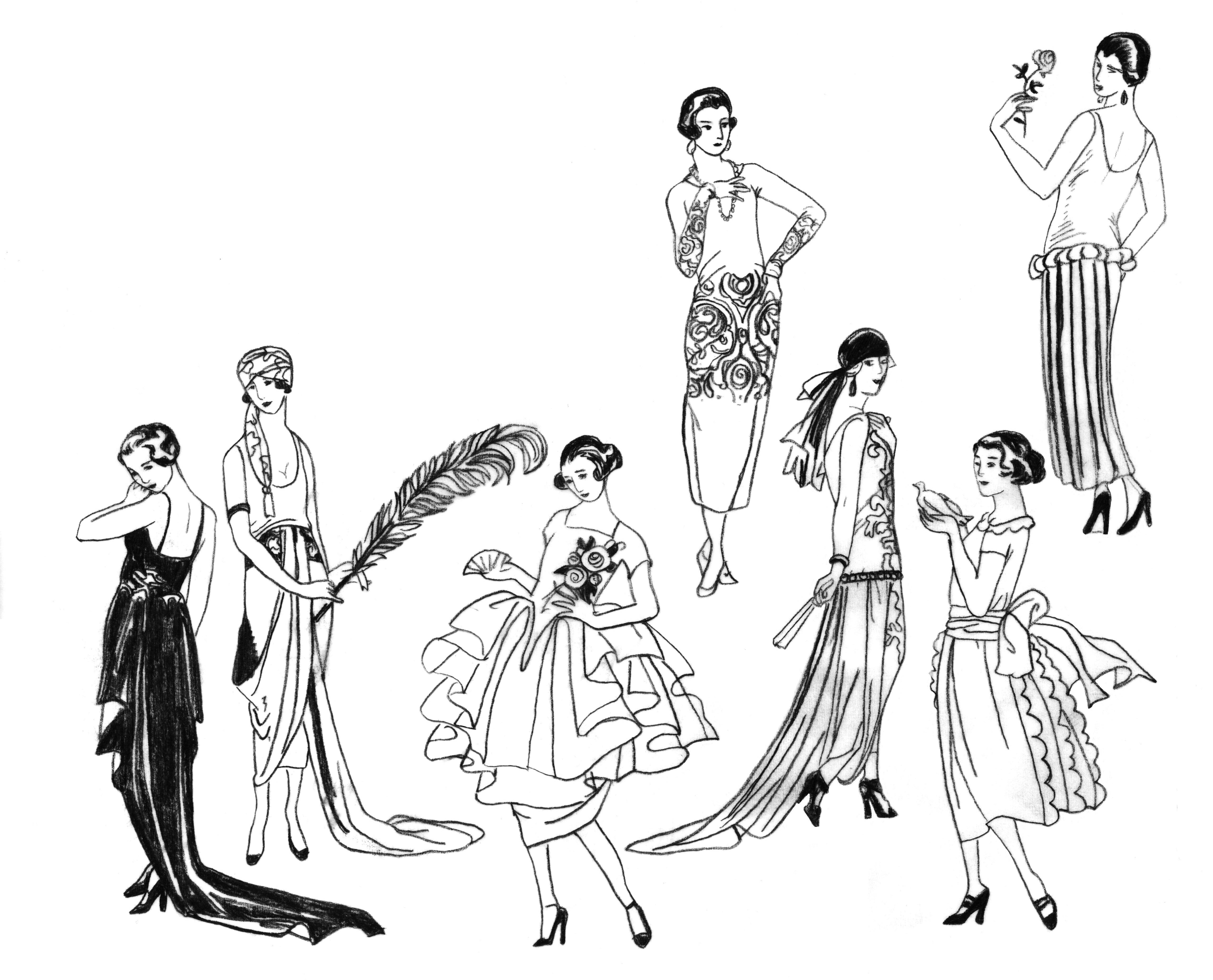 la belle epoque fashion